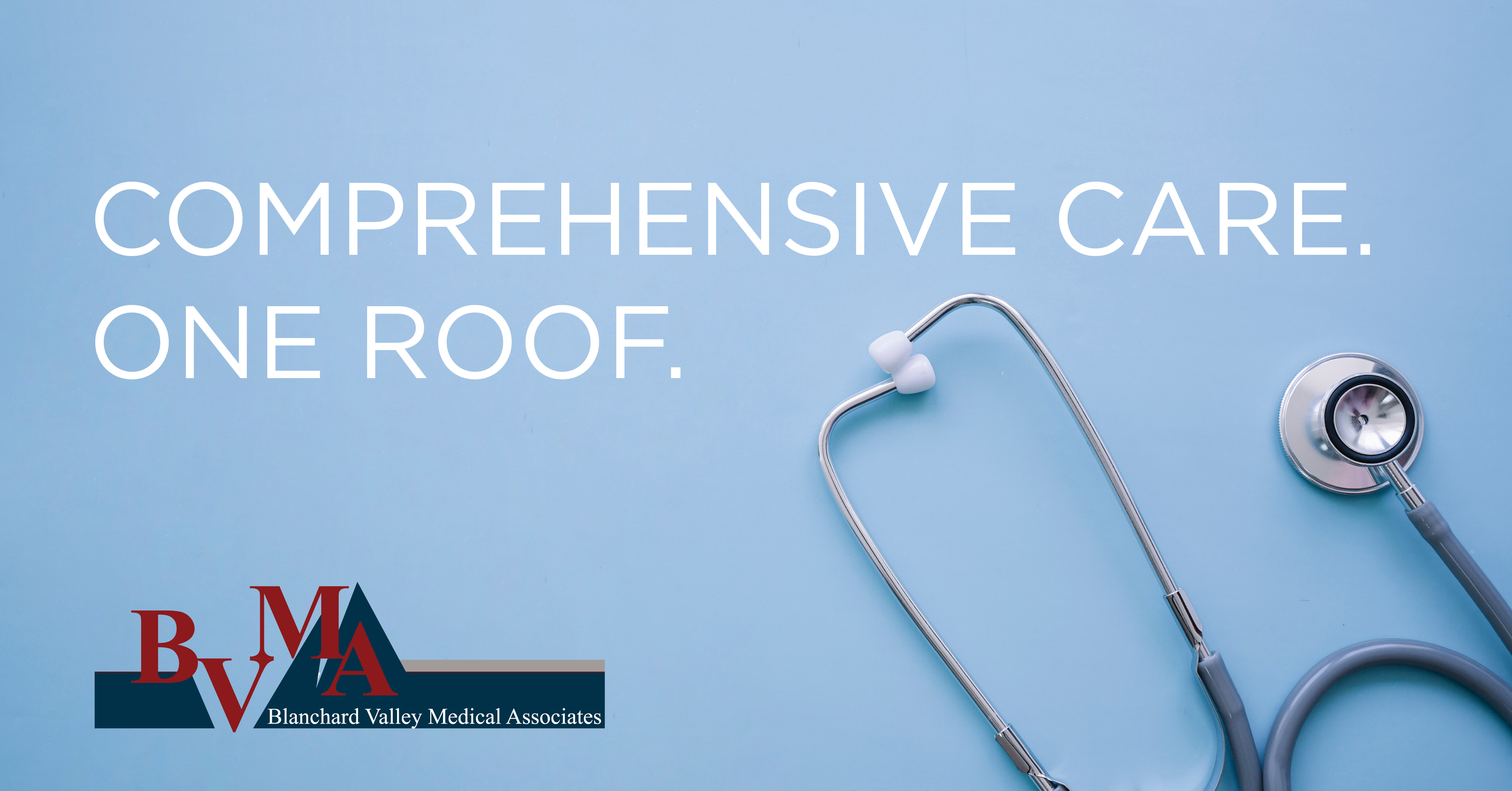 Comprehensive Care. One Roof. Ad